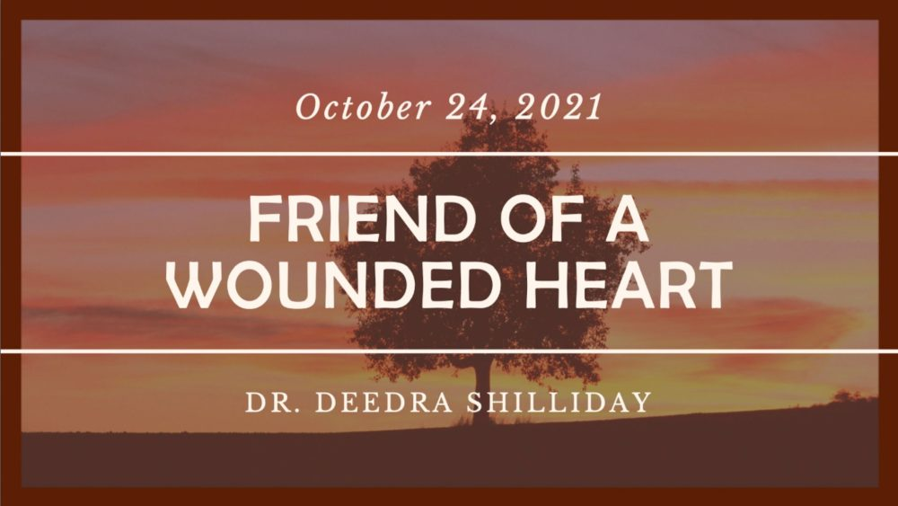 Friend of a Wounded Heart Image