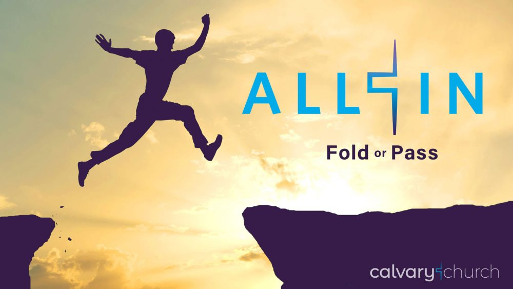 All In! Fold or Pass Image
