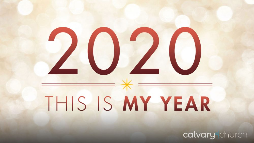 2020: This is My Year! Image