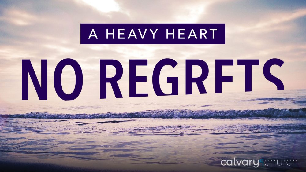 No Regrets: A Heavy Heart Image