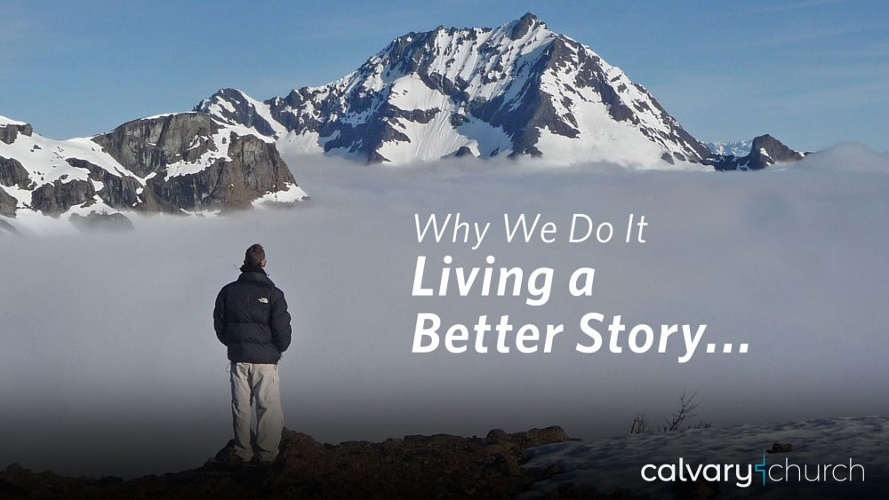 Why Do We Want to Live a Better Story? Image