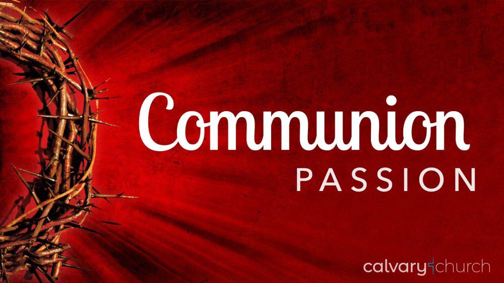 Communion Passion Image