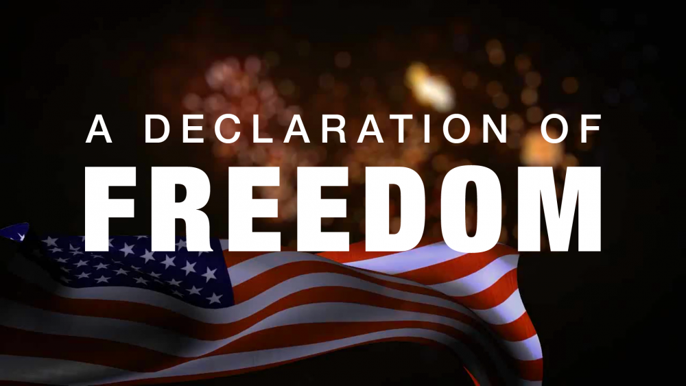 A Declaration of Freedom Image