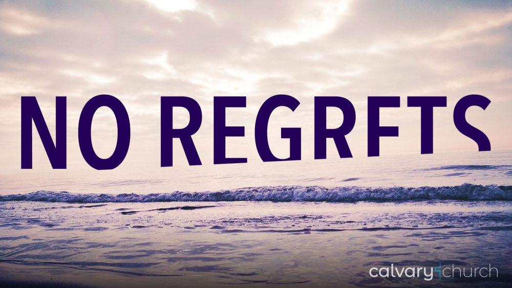 No Regrets Image