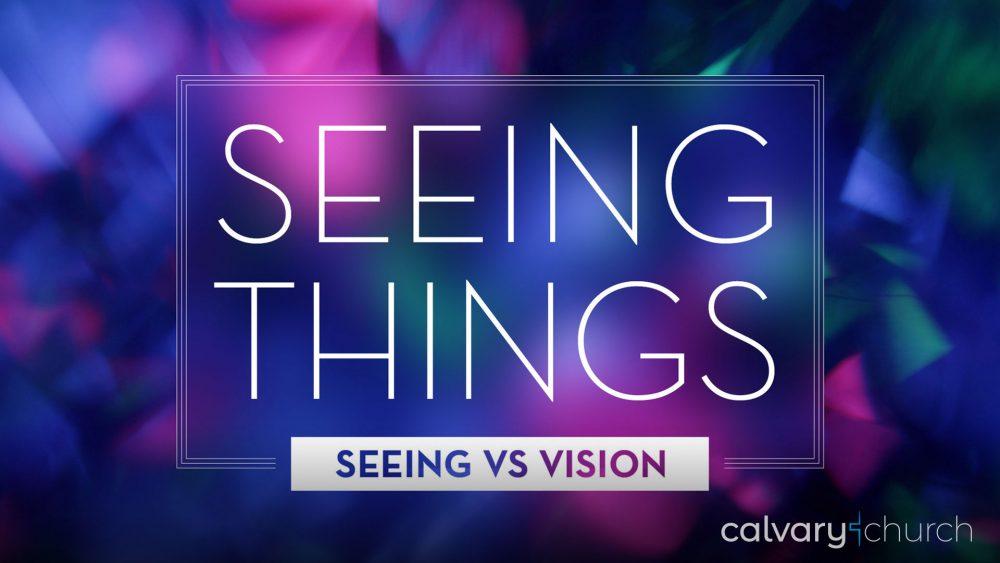 Seeing Things: Seeing vs. Vision Image